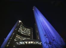 Ville hôtel la nuit, Toronto Photographie stock