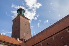 Ville hôtel, Suède de Stockholm Photos libres de droits