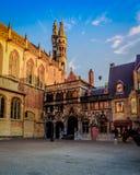 006-19 ville Hall Bruges photo libre de droits