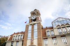 Ville Hall Building Sighnaghi georgia images libres de droits