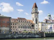 Ville Hall Passau Image stock