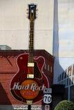 Ville Hard Rock Cafe de musique Images stock