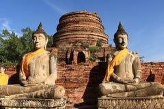 Ville historique d'Ayutthaya, Thaïlande photographie stock libre de droits