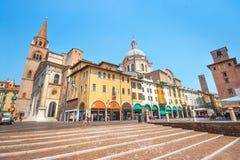 Ville historique de Mantua en Lombardie, Italie image stock