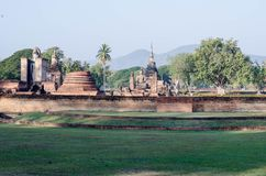 Ville historique de Sukhothai et de villes historiques associées photo libre de droits