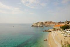 Ville historique, Dubrovnik Images libres de droits