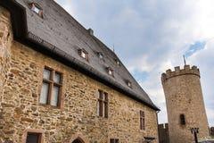 Ville historique Hesse Allemagne de Biedenkopf Image libre de droits