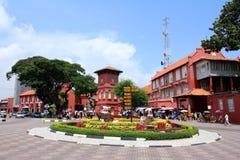 Ville histrorical du Malacca Images libres de droits