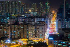 Ville Hong Kong Photographie stock