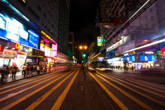 Ville Hong Kong Images libres de droits