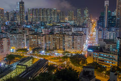 Ville Hong Kong Photographie stock