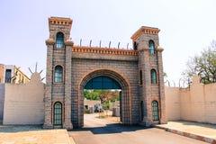 Ville Hyderabad de film de Ramoji à l'intérieur d'ensemble de prison de centre de vue photos libres de droits