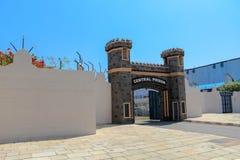 Ville Hyderabad de film de Ramoji à l'intérieur d'ensemble de prison de centre de vue photo libre de droits
