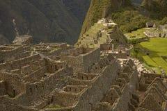 Ville inca perdue de visite de personnes de Machu Picchu près de Cusco au Pérou Images stock