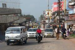 Ville indienne de Mangalore Photographie stock