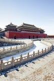 Ville interdite à Pékin, Chine images libres de droits