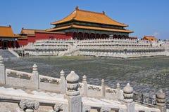Ville interdite à Pékin, Chine Photographie stock libre de droits