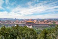 Ville interdite à Pékin, Chine photo stock
