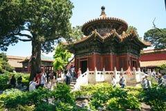 Ville interdite, Pékin, Chine Photographie stock libre de droits