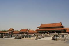 Ville interdite - Pékin - Chine Photographie stock libre de droits