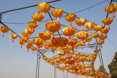 Ville 2016 internationale de carnaval de lanterne magique de Changhaï de lumière Photographie stock