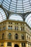 Ville italienne Naples, Galleria Umberto photos stock