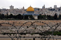 ville Jérusalem vieux Image libre de droits