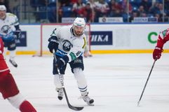 Ville Leino (18) in action Royalty Free Stock Image