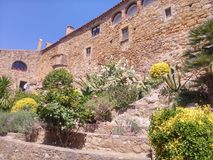 Ville médiévale Photos libres de droits