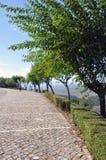 Ville médiévale d'Orem, Portugal Photo libre de droits