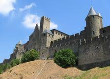 Ville médiévale de Carcassonne Images stock