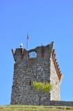 Ville médiévale de château d'Orem, Portugal Images libres de droits