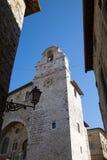 Ville médiévale de San Gemini en Italie photographie stock libre de droits