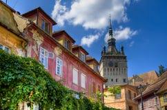 Ville médiévale de sighisoara Images libres de droits