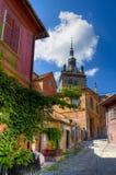 Ville médiévale de sighisoara photos stock