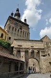 Ville médiévale de Sighisoara, héritage de l'UNESCO Image stock