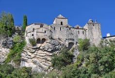 Ville médiévale de Vaison-La-laitue romaine Photographie stock libre de droits