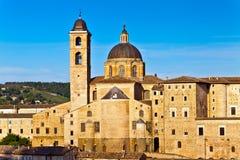 Ville médiévale Urbino en Italie photos libres de droits