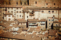 Ville médiévale Urbino, Italie Photo libre de droits