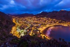 Ville Machico - Madère Portugal Photos libres de droits