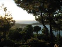 Ville, mer, vacances, bilding Photographie stock