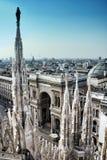 ville Milan photo stock