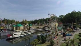 Ville miniature de station de vacances de LEGOLAND Deutschland dans Gunzburg clips vidéos