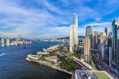 Ville moderne de Hong Kong Image stock