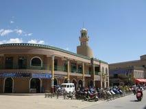 Ville moderne de Kachgar, le Xinjiang, Chine Photos libres de droits