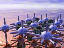 Ville modulaire Illustration Libre de Droits