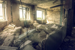 Ville morte Photographie stock
