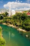 ville mostar photographie stock