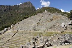Ville mystérieuse de Machu Picchu, Pérou. Photos libres de droits