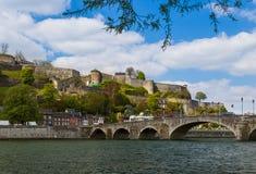 Ville Namur en Belgique images libres de droits